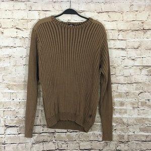 Tan regular fit timberland sweater size M NWOT